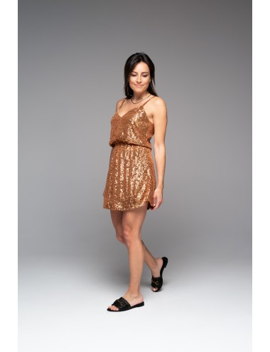 Φόρεμα κοντό με παγέτες