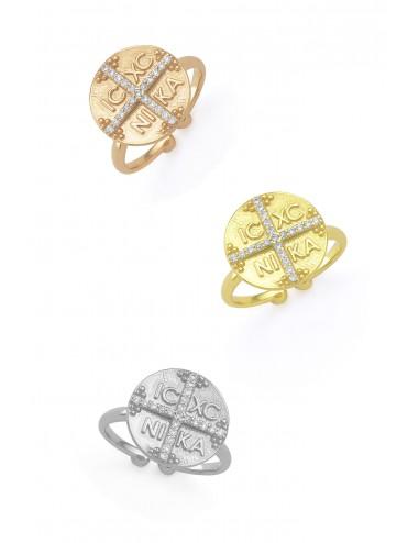 Ασημένιο δαχτυλίδι Κωνσταντινάτο