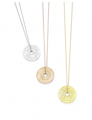 10 Cent coin necklace