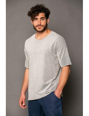 T-shirt κοντο μανίκι σε φούτερ
